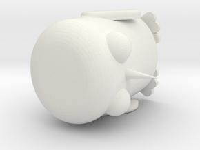 Gunter Adventure Time in White Natural Versatile Plastic