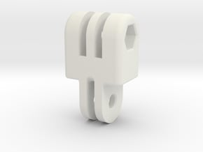 GoPro Style Extension - 23.5mm in White Natural Versatile Plastic