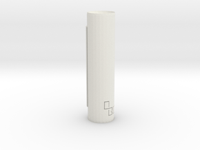 Obc in White Natural Versatile Plastic