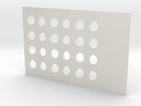 CardGrinderMiny in White Natural Versatile Plastic