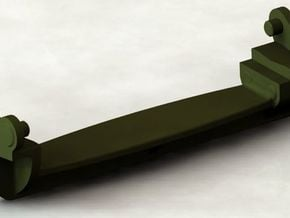 D48082 GROUSER ASSEMBLY 1-16th SCALE in Smooth Fine Detail Plastic