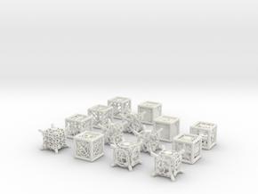 Grid Die All Pack 10 of 13 in White Natural Versatile Plastic