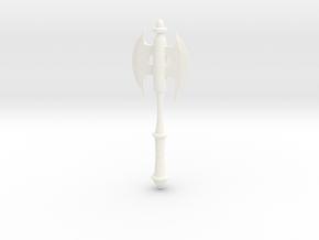 Concept Axe in White Processed Versatile Plastic