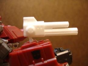Sunlink - 3mm: AutoC Gun in White Natural Versatile Plastic