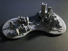 Futuristic city concept in White Natural Versatile Plastic