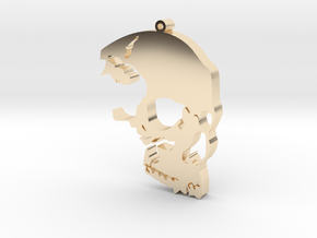 The Skull Rules in 14K Yellow Gold