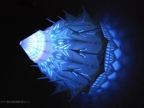 Lamp Magic Light Cathedral 15cm  in White Natural Versatile Plastic