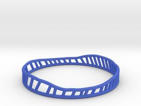 Phileas 2 (thicker version) in Blue Processed Versatile Plastic