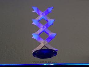 XXX KISSES present in White Natural Versatile Plastic