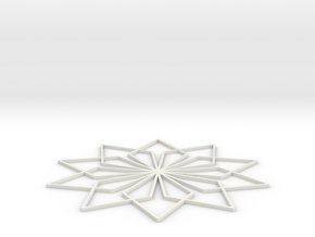 My Ice Art in White Natural Versatile Plastic