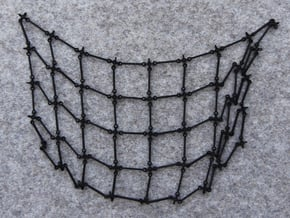 Simulation Mesh - No Diagonals in Black Natural Versatile Plastic