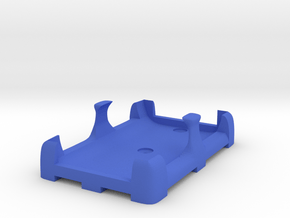 Battery mount (for Fromeco 2600) in Blue Processed Versatile Plastic
