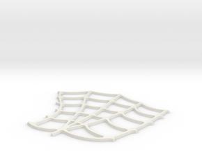 Spider-Man Left Palm Webbing (fits kenlandrum prin in White Natural Versatile Plastic