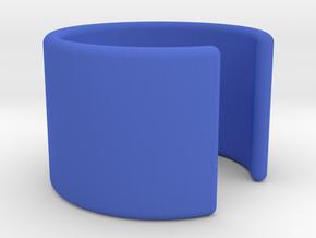 Simple Ear Cuff in Blue Processed Versatile Plastic