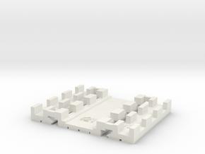 E-165-barrow-crossing-long-1a in White Natural Versatile Plastic