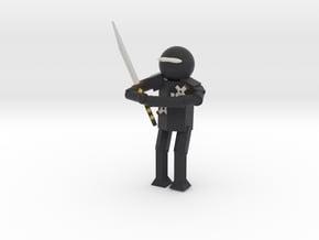 Model Ninja in Full Color Sandstone