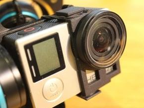 Feiyu-Tech G3 - Protective Lens Clip in Black Natural Versatile Plastic