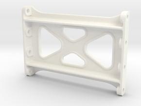 "3/4"" Scale USRA Frame Crosstie in White Processed Versatile Plastic"