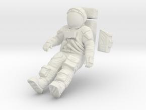1:16 Apollo Astronaut /LRV(Lunar Roving Vehicle) in White Natural Versatile Plastic