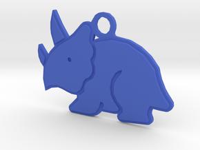 Dino in Blue Processed Versatile Plastic
