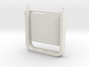 Two-Tone Multifunctional Iphone5 Case (Bottom Half in White Natural Versatile Plastic
