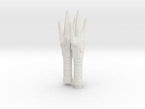 Mega Bloks Power Lance in White Natural Versatile Plastic