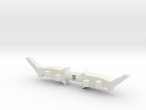 Mega bloks Power Bow in White Natural Versatile Plastic