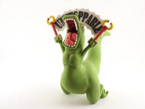 Unstoppable T-Rex in Full Color Sandstone