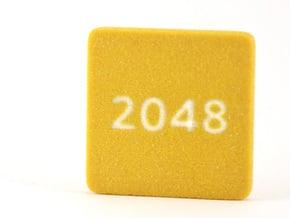2048 tile in Full Color Sandstone