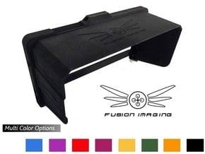 Samsung Galaxy Note 3 Visor / FPV Deep Hood in Black Natural Versatile Plastic