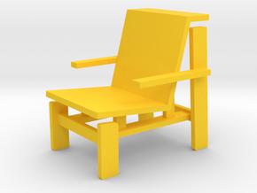 DRONE by RJW Elsinga 1:10 in Yellow Processed Versatile Plastic