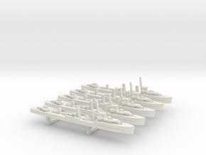 Lepanto (Churruca class) 1/1800 x5 in White Natural Versatile Plastic
