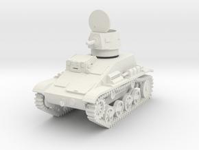 PV54B Type 94 TK (Open Hatch) (28mm) in White Natural Versatile Plastic