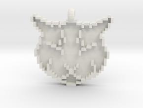 Ulysses Pendant in White Natural Versatile Plastic