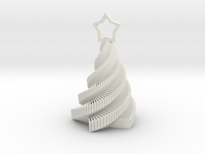 Starstruck Holiday Ornament from Carla Diana in White Natural Versatile Plastic
