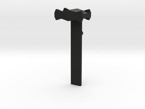 Tripod Clamp  in Black Natural Versatile Plastic