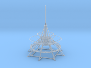Spire Lower V0.2 in Smooth Fine Detail Plastic