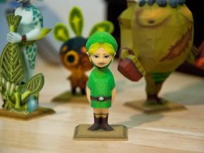 Link Statue from Zelda Majora's Mask in Full Color Sandstone