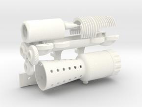Han Hero Kit (no Scope) in White Processed Versatile Plastic