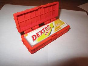 Dextro Carry Case in White Natural Versatile Plastic