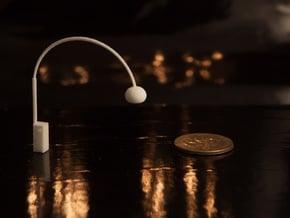 1:48 Arco Floor Lamp in White Natural Versatile Plastic