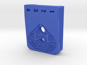 Hi Capa  Baseplate Diamond in Blue Processed Versatile Plastic
