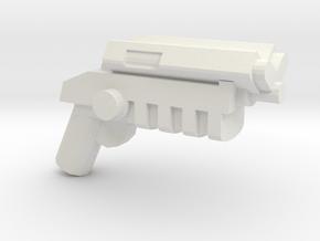 Grapnel Gun V1.1 in White Natural Versatile Plastic