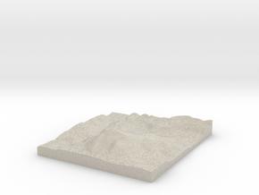 Model of Stevens Brook in Natural Sandstone