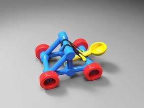 Catapult in Yellow Processed Versatile Plastic