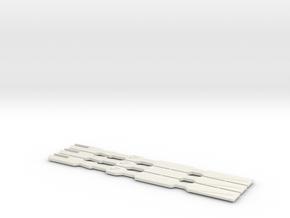 Phantom Blade Dart 3-Pack in White Natural Versatile Plastic
