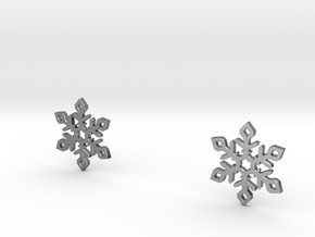 Snow Flakes Small in Polished Silver