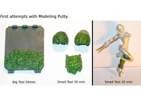 Saurian/Dragon Skin Modeling Tool in Smooth Fine Detail Plastic