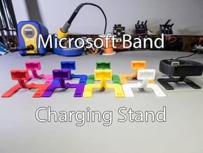 Microsoft Band Charging Stand in Black Natural Versatile Plastic