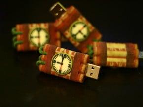 Dynamite USB Drive Case in Full Color Sandstone